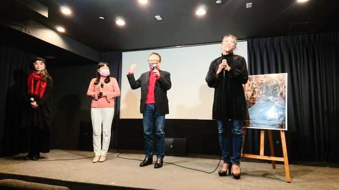 今宵、映画『ひとくず』の上映終了後、ゲスト出演~! at 十三のシアターセブン