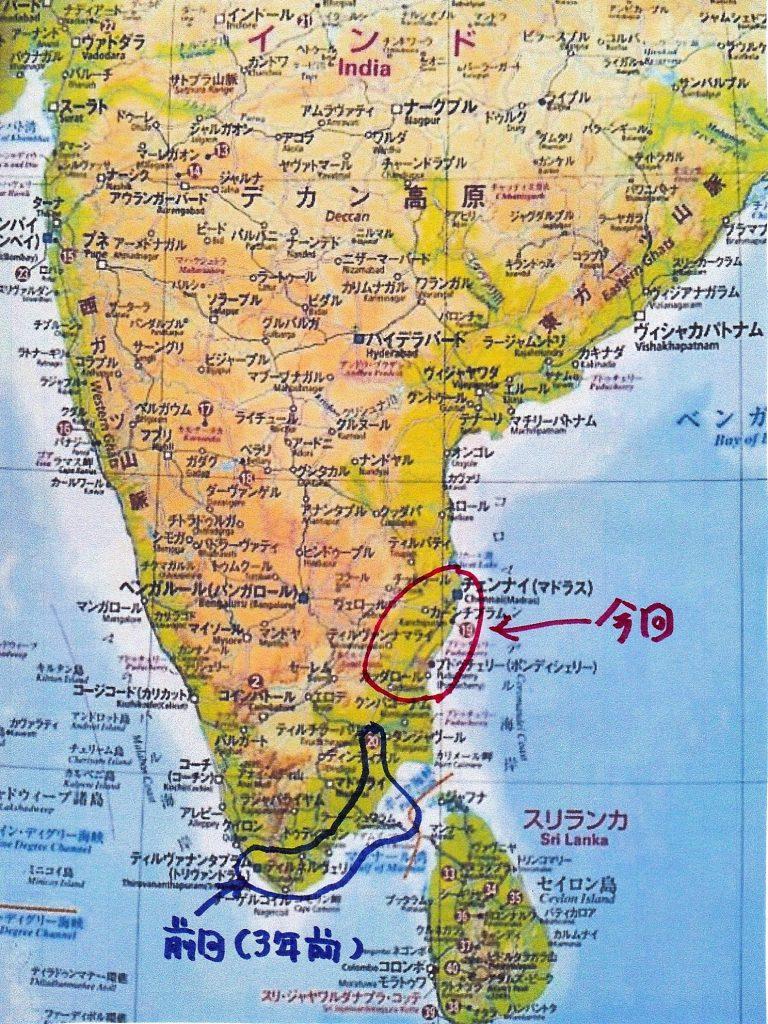 明日から2度目の南インド放浪の旅~(^_-)-☆
