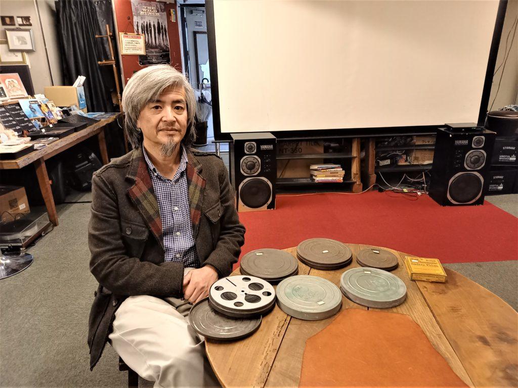 日本で初めて映画を上映した荒木和一さん撮影の(?)16ミリ映像を鑑賞~(^_-)-☆