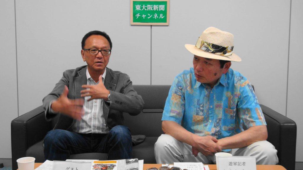 東大阪新聞チャンネルでちょこっと出演~『スリランカは今』