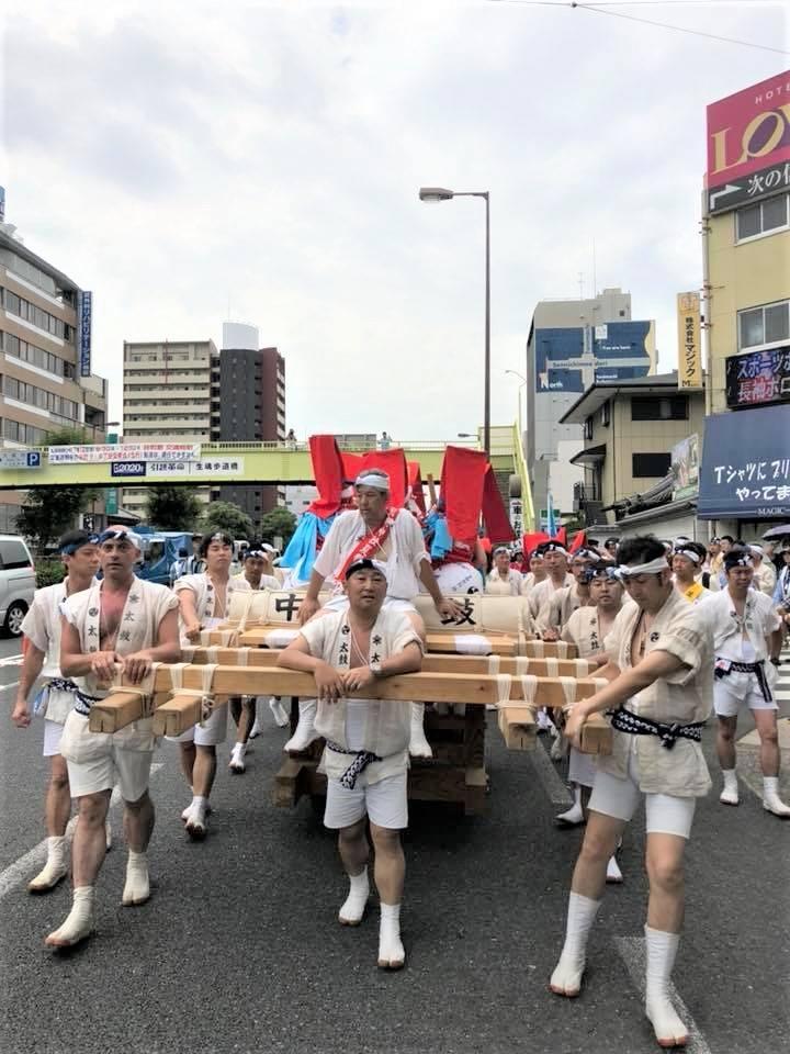 「いくたまさん(生國魂神社)」夏祭り、フィーバーしました~(^_-)-☆