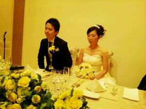 教え子の結婚式~ハッピー、ハッピー♪♪