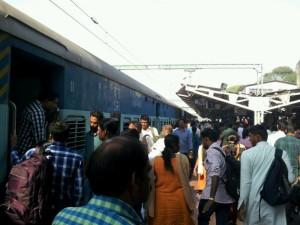 南インド紀行(3)~初めての列車の旅