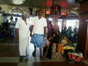 南インド紀行(16)~長距離列車に乗るまでが大変!