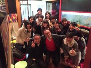 関大JP11期生たちとの和やかな忘年会~(^_-)-☆