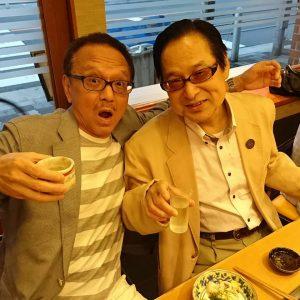 昨夜は楽しいハシゴ酒~(^_-)-☆