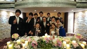 元教え子の結婚式、ミニ同窓会になりました~(*^-^*)