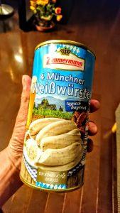 (18)デンマーク&北ドイツ~ホワイト・ソーセージの缶詰をゲット、その後、ちょっとハプニング!