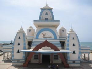 カニャークマリのガンジー記念堂