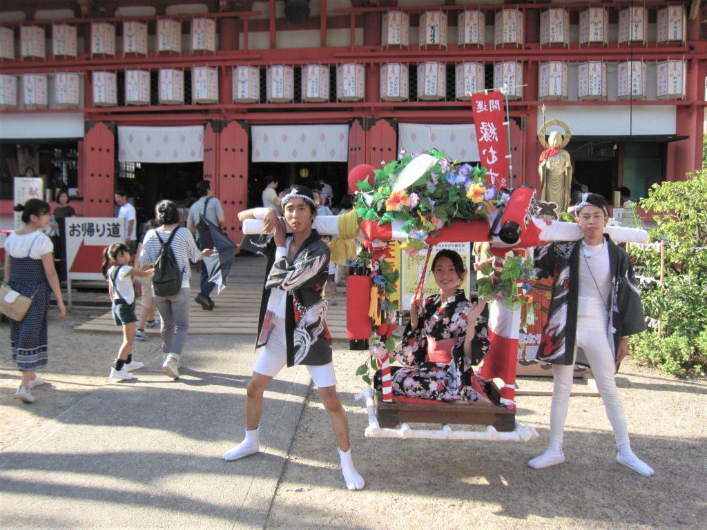 大阪ストーリー(3)大阪の夏祭り~心弾ける「いくたまさん」
