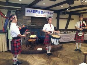 日本スコットランド交流協会でのソロ・ライブ~♪♪