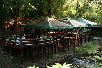 ヴィリニュスのカフェ