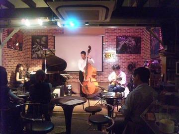 Jazzに癒されました~♪