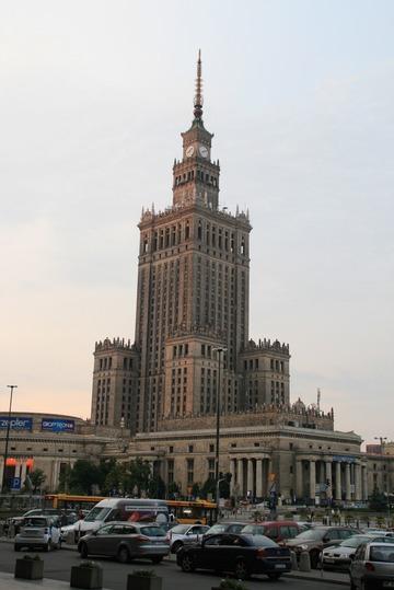 ポーランド紀行(1)~ワルシャワの街