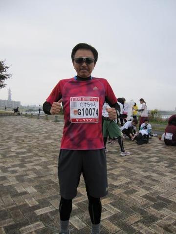 生まれて初めてのハーフ・マラソン~2時間切れました!!