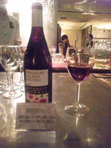 ヌーヴォー・ワイン……、あっと言う間に1年が過ぎました。