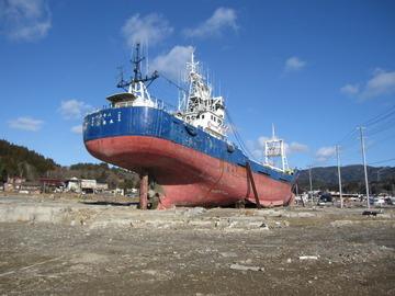 『陸(おか)の船』~気仙沼を訪れ、歌を作りました。