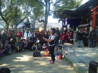 とんど祭と日本一の屋台達~大阪・高津宮