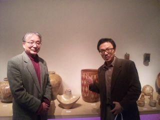 陶芸に魅せられた西川光男さんの個展