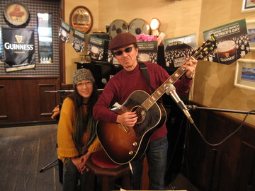 「IRISH NIGHT」のライブ~at Whisky Cat ♪♪