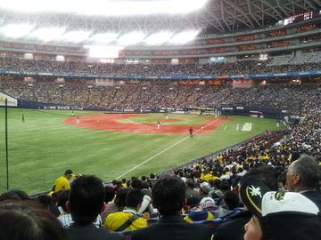 阪神の開幕戦~好ゲームだったけれど、疲れました